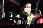 سوار شدن به اتوبوس در تبریز بدون ماسک، ممنوع